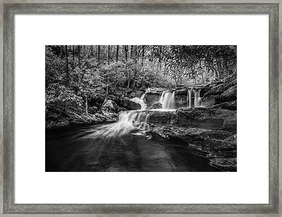 Cool Waters In Tremont Framed Print by Jon Glaser