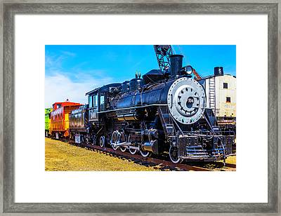 Coos Bay Lumber Company Train 104 Framed Print by Garry Gay