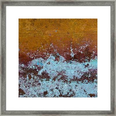 Copper Patina Framed Print by Carol Leigh