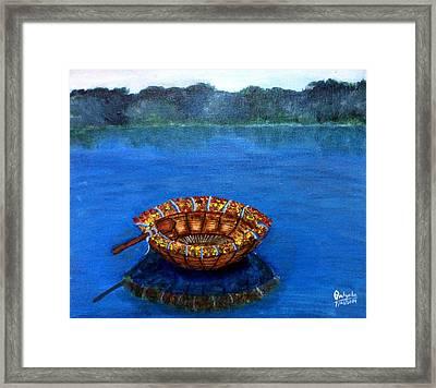 Coracle Framed Print by Pratyasha Nithin