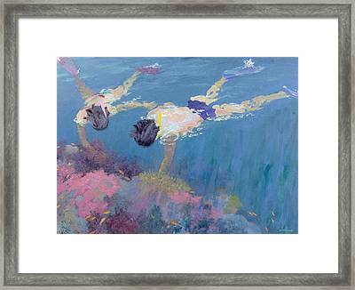 Coral II  Framed Print by William Ireland