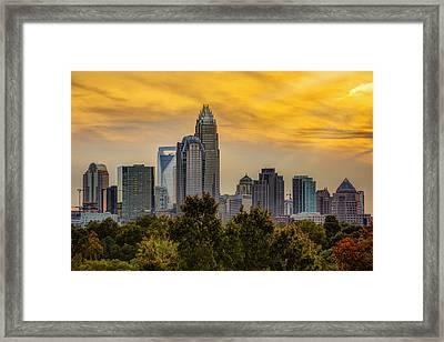 Cordelia Sunset Framed Print by Chris Austin