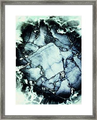 Cork Abstraction Framed Print by Wim Lanclus