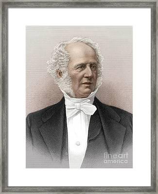 Cornelius Vanderbilt, American Business Framed Print by Science Source