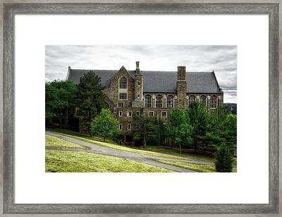 Cornell University Ithaca New York 06 Framed Print by Thomas Woolworth