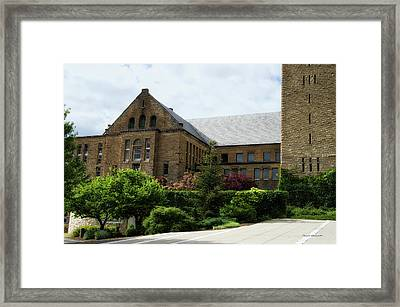 Cornell University Ithaca New York 13 Framed Print by Thomas Woolworth