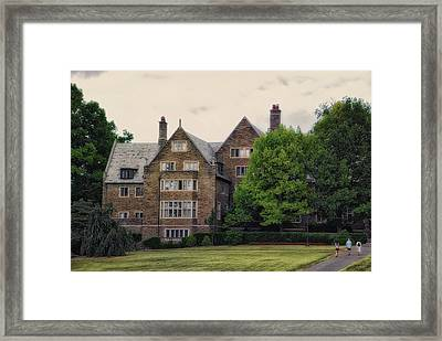 Cornell University Ithaca New York Pa 03 Framed Print by Thomas Woolworth