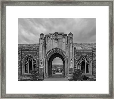 Cornell University Ithaca New York Framed Print by Steven Michael