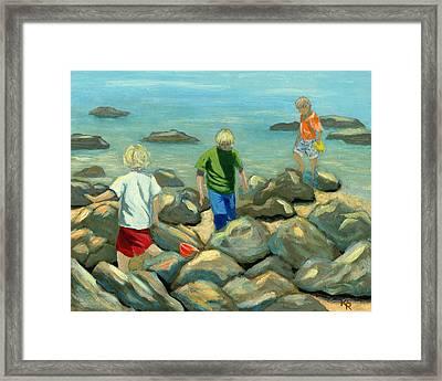 Coronado Island Expedition Framed Print by Karyn Robinson