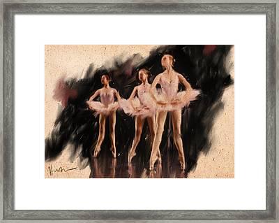 Corps De Ballet Framed Print by H James Hoff