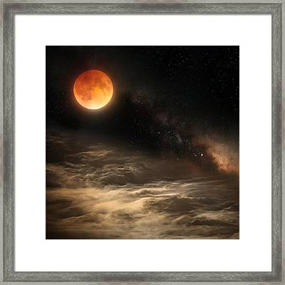 Cosmic Clouds Framed Print by Bill Wakeley