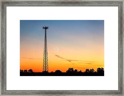 Cosmic Communications Framed Print by Todd Klassy