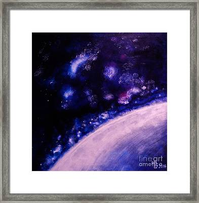 Cosmic Dance Framed Print by Mario Lorenz