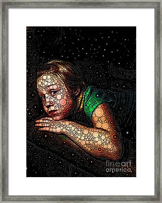 Cosmic Dust Framed Print by Ron Bissett