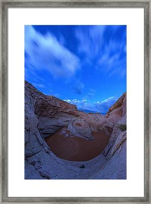 Cosmic Twilight  Framed Print by Dustin  LeFevre
