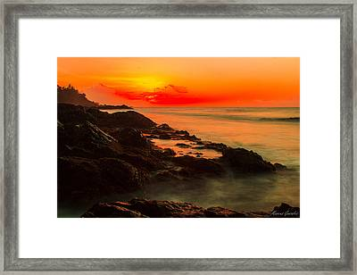 Cotton Candy Framed Print by Marcus Gonzales