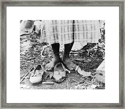 Cotton Picker, 1937 Framed Print by Granger