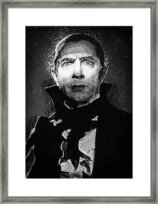 Count Dracula Framed Print by Taylan Soyturk