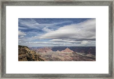 Counterbalance Framed Print by Belinda Greb