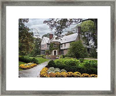Country Cottage Framed Print by Jessica Jenney