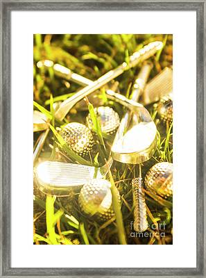 Country Golf Framed Print by Jorgo Photography - Wall Art Gallery