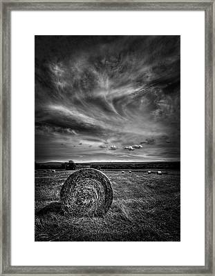 Country High Framed Print by Evelina Kremsdorf