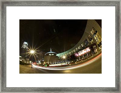 Country Music Hall Of Fame Framed Print by Giffin Photography