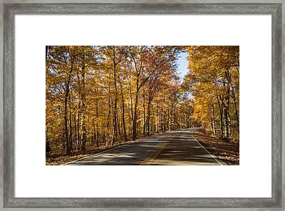 Country Road Framed Print by Andrea Kappler