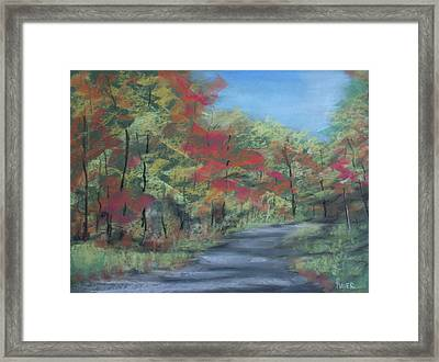 Country Road II Framed Print by Pete Maier