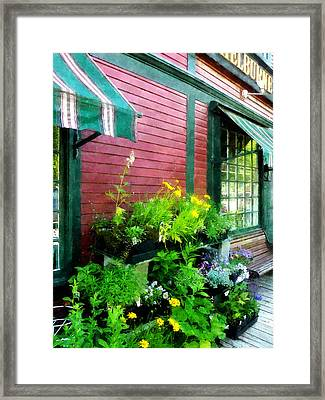 Country Store Framed Print by Susan Savad