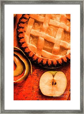 Country Style Baking Framed Print by Jorgo Photography - Wall Art Gallery