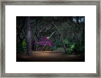 Country Swing Framed Print by Marvin Spates