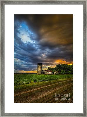 Country Tempest Framed Print by Marvin Spates