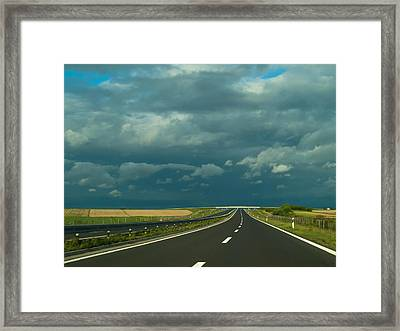 Countryside Drive Framed Print by Mountain Dreams