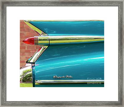 Coupe De Ville Framed Print by Tim Gainey