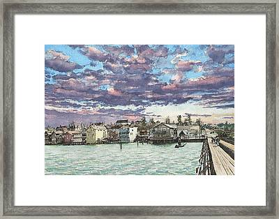 Coupeville Framed Print by Perry Woodfin