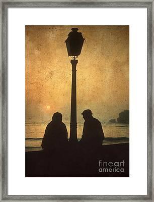 Couple Framed Print by Bernard Jaubert