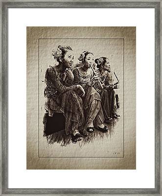 China Framed Print by Jean Francois Gil
