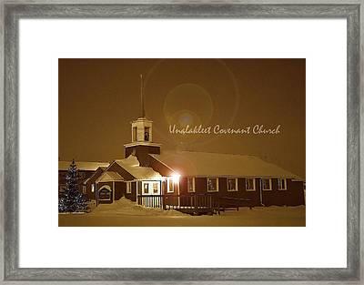 Covenant Church Framed Print by Arlene Rhoda Nanouk