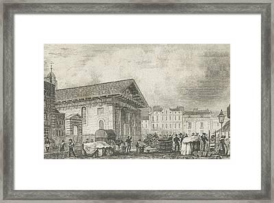 Covent Garden Framed Print by Thomas Hosmer Shepherd