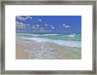 Cozumel Paradise Framed Print by Chad Dutson