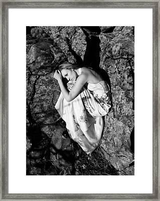 Cracked Framed Print by Scott Sawyer