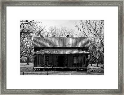 Cracker Cabin Framed Print by David Lee Thompson