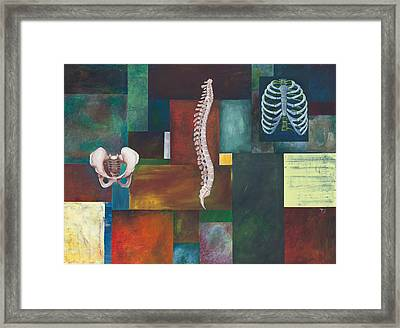 Cradle Column Cage Framed Print by Sara Young