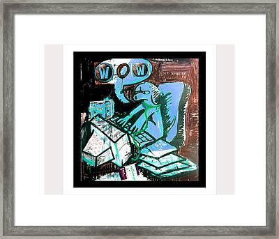Craft Of World War Framed Print by Bendik Laland