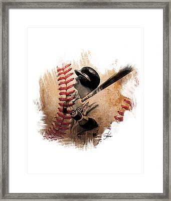 Craig Biggio Framed Print by Ryan Anderson