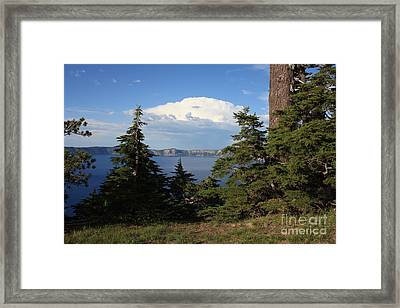 Crater Lake 8 Framed Print by Carol Groenen