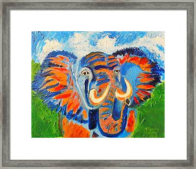Crazy Chang Framed Print by Marvin Pike