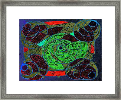 Creating Infinity Framed Print by Dorothy Berry-Lound