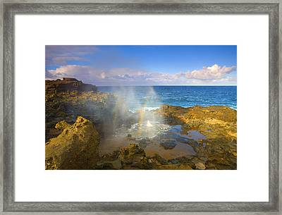Creating Miracles Framed Print by Mike  Dawson